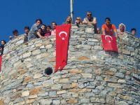 Cumhuriyet MTAL, 2. Cumhuriyet doğa yürüyüşünü Çağlak kalesine yaptı
