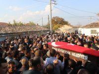 Askeri birlikteki bakım sırasına hayatını kaybeden işçi son yolculuğuna uğurlandı