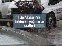 Akhisar'da yağmur ne zaman yağacak! İşte detaylar