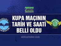 Ziraat Türkiye Kupasında Ankara Demirspor, T.M. Akhisarspor maç programı belli oldu
