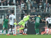 T.M. Akhisarspor 10 kişi kaldığı Beşiktaş deplasmanından 1 puan aldı