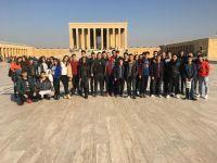 Özel Merkez Lisesi Anıtkabir ve ODTÜ'yü ziyaret etti