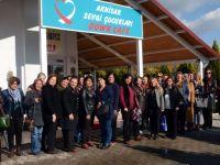 Halk Eğitimi Merkezi Usta Öğreticileri, Down Cafe'yi ziyaret etti