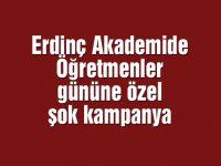 Erdinç Akademide öğretmenler gününe özel şok kampanya