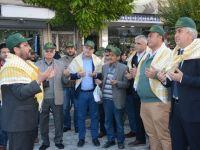 Akhisar'da zeytine minnet yürüyüşü yapıldı