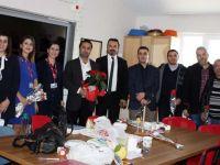 Özel Akhisar Hastanesi'nden öğretmenler günü ziyareti