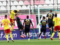T.M. Akhisarspor evinde E. Yeni Malatyaspor ile golsüz berabere kaldı