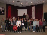 MCBÜ Akhisar Meslek Yüksekokulunda mesleki seminerler devam ediyor