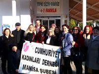 Cumhuriyet Kadınları Derneği, Sevgi Çocukları Down Cafe'yi ziyaret etti