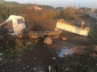 Akhisar'da tren kazası; 2 yaralı