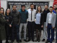 CHP Akhisar İlçe Örgütü gençlik kolları seçimi yapıldı