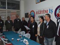 """Eğitim-İş başkanı Elif Duran Ergan;""""Öğretmene Şiddeti Durdurun"""""""