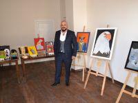 Ali Durul, ilk resim sergisini açtı