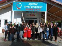 Saruhanlı MTAL öğrencileri, Down Cafe'yi ziyaret etti