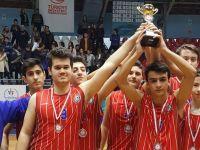 Eksen Lisesinin okul sporları basketbol genç erkek takımı başarısı