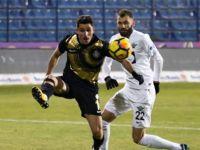T.M. Akhisarspor ilk devrenin son maçında eli boş dönüyor