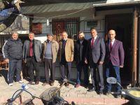 Akhisar'da temaslar yoğunlaştı