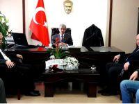 AK Parti İlçe Teşkilatı, Kaymakam Peker'i ziyaret etti