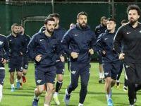 TM Akhisarspor Antalya'da çalışmalara başladı
