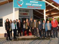 Merkez Lisesi öğrencileri, Down Cafe'yi ziyaret etti