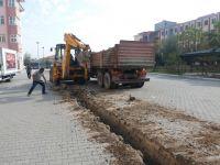 Akhisar Belediyesi, Şeyh İsa Anadolu Lisesinin temiz su hattı yenilendi