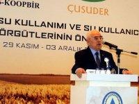TÜS-KOOP'tan iklim değişikliği ve kuraklıkla ilgili basın açıklaması