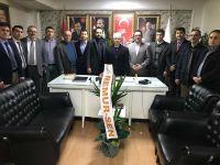 Memur-Sen'den AK Parti'ye hayırlı olsun ziyareti