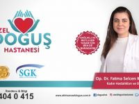 Kadın doğum uzmanı Op. Dr. Fatma Selcen Karakuş Özel Doğuş Hastanesi'nde