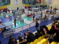 Gençler masa tenisi il birinciliği müsabakası sona erdi