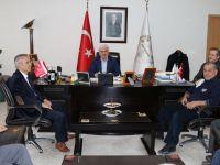 Akhisargücü spor kulübünden, Belediye Başkanı Salih Hızlı'ya ziyaret