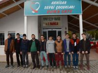 Hilaliye Kuran Kursu öğrencileri, Down Cafe'yi ziyaret etti