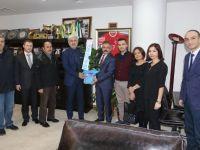 Türk Eğitim-Sen Akhisar teşkilatından, Belediye Başkanı Salih Hızlı'ya ziyaret