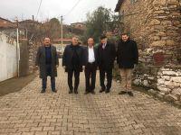 Akhisarlı Muhtarlar Büyükşehir'den memnun