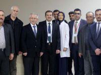 AK Parti İlçe Başkanı Sayın'dan, Mustafa Kirazoğlu Devlet Hastanesine ziyaret