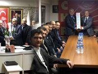Erzurumlular Derneğinden, CHP ve AK Parti'ye ziyaretler