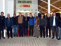 Erzurumlular Derneği, Down Cafe'yi ziyaret etti