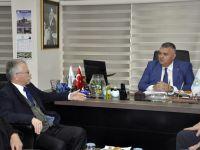AK Parti ilçe teşkilatından Büyükşehir'e ziyaret