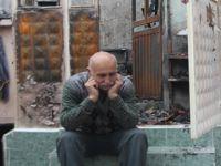 Akhisarlı güreş cazgırı Mehmet Zeybek yangında herşeyini kaybetti