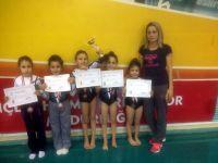 Akhisarlı cimnastikçiler il üçüncüsü oldu