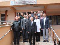 AK Parti Akhisar İlçe Teşkilatından hastane ziyareti