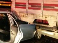 Akhisar'da trafik kazasında 6 kişi yaralandı