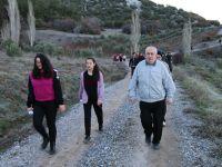 Akhisar'da 7'den 70'e doğa yürüyüşüne