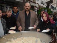 Ülkü Ocakları Zeytin Dalı Harekatı Şehitleri için pilav hayrı