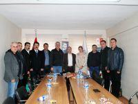 Erol Boşnak ve meclis üyeleri, oda ziyaretlerine devam ediyor