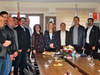 ATSO Başkan Adayı Boşnak, Pınar Güney'i ziyaret etti
