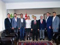 Kaymakam Peker, Erol Boşnak ve ekibi ile birlikte Akhisar gündemini değerlendirdi