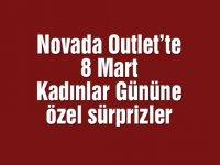 Novada Outlet'te 8 Mart Kadınlar Gününe özel sürprizler