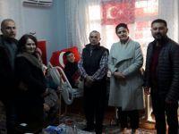 İyi Parti İlçe Teşkilatı, Akhisarlı Afrin Kahramanını ziyaret etti