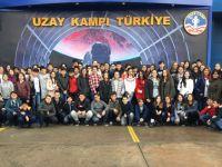 """Ali Şefik Ortaokulu öğrencileri """"Uzay Kampı""""nı turladılar"""