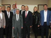 ATSO Adayı Erdayıoğlu, projelerini Kaymakam ile paylaştı